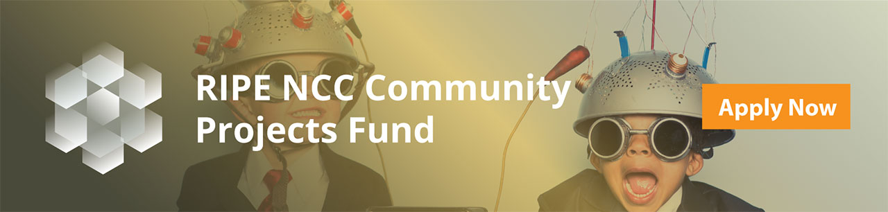Открыт прием заявок на соискание грантов от RIPE NCC - 1
