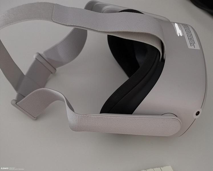 Первые живые фото шлема виртуальной реальности Oculus Quest S