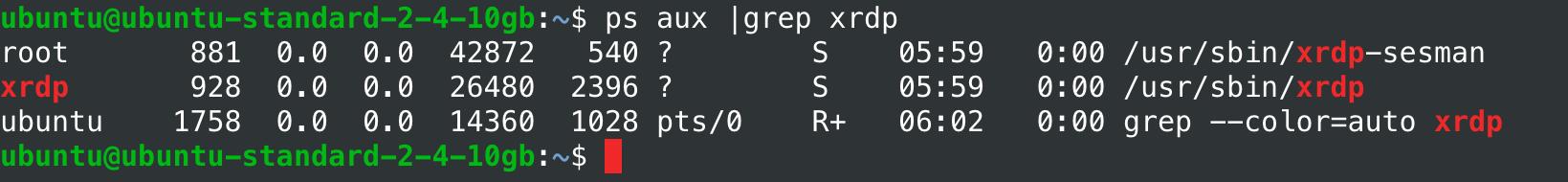 VPS на Linux с графическим интерфейсом: запускаем сервер RDP на Ubuntu 18.04 - 7