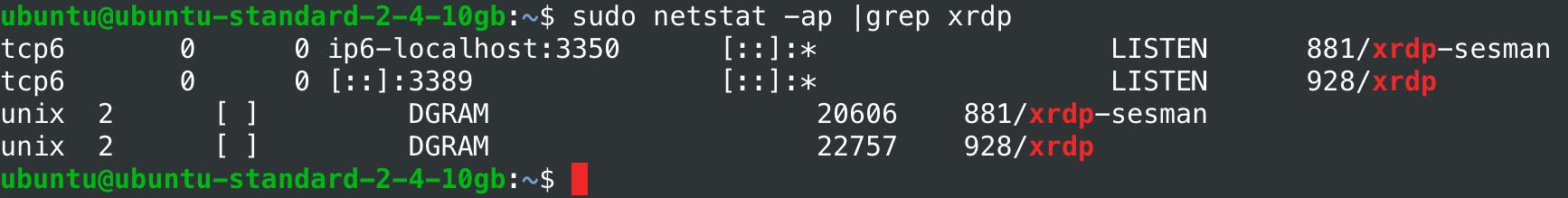 VPS на Linux с графическим интерфейсом: запускаем сервер RDP на Ubuntu 18.04 - 8