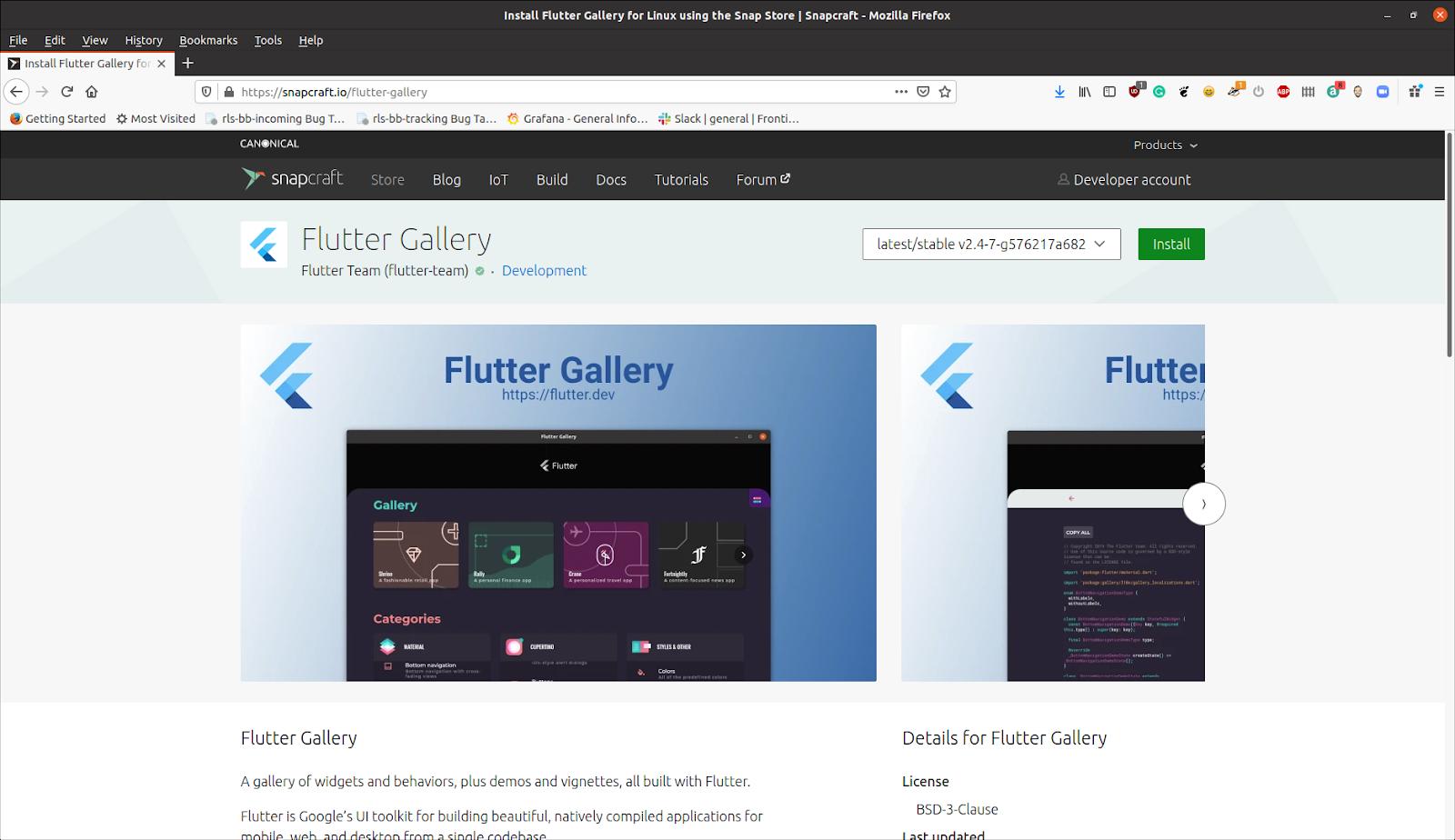 Альфа-версия Flutter для Linux и разработка настольных приложений - 7
