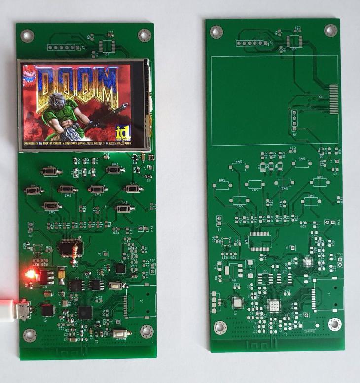Doom Boy ESP32. Вторая итерация - 1