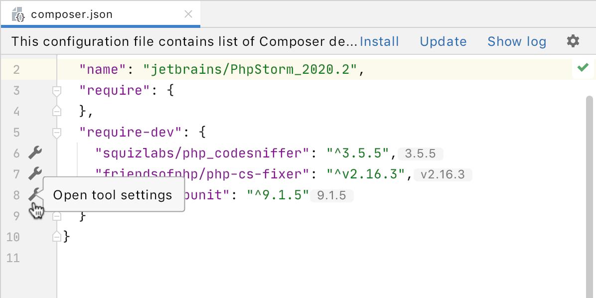 PhpStorm 2020.2: объединенные типы PHP 8, новый движок потока управления, пул-реквесты GitHub, OpenAPI - 22