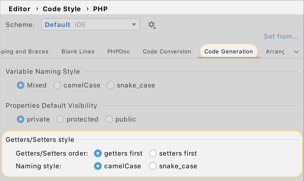 PhpStorm 2020.2: объединенные типы PHP 8, новый движок потока управления, пул-реквесты GitHub, OpenAPI - 28