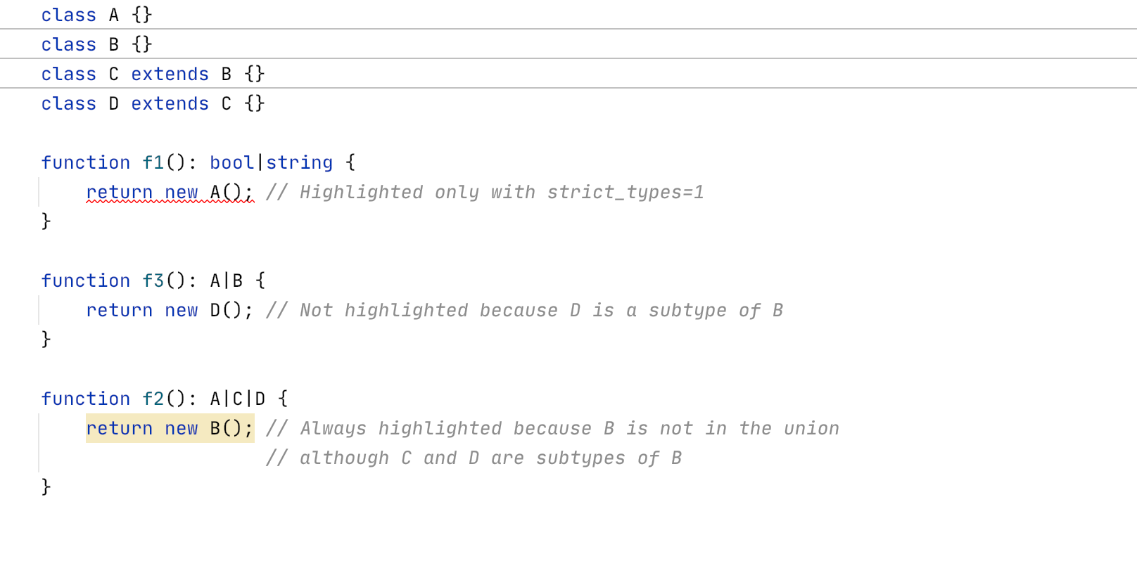 PhpStorm 2020.2: объединенные типы PHP 8, новый движок потока управления, пул-реквесты GitHub, OpenAPI - 6