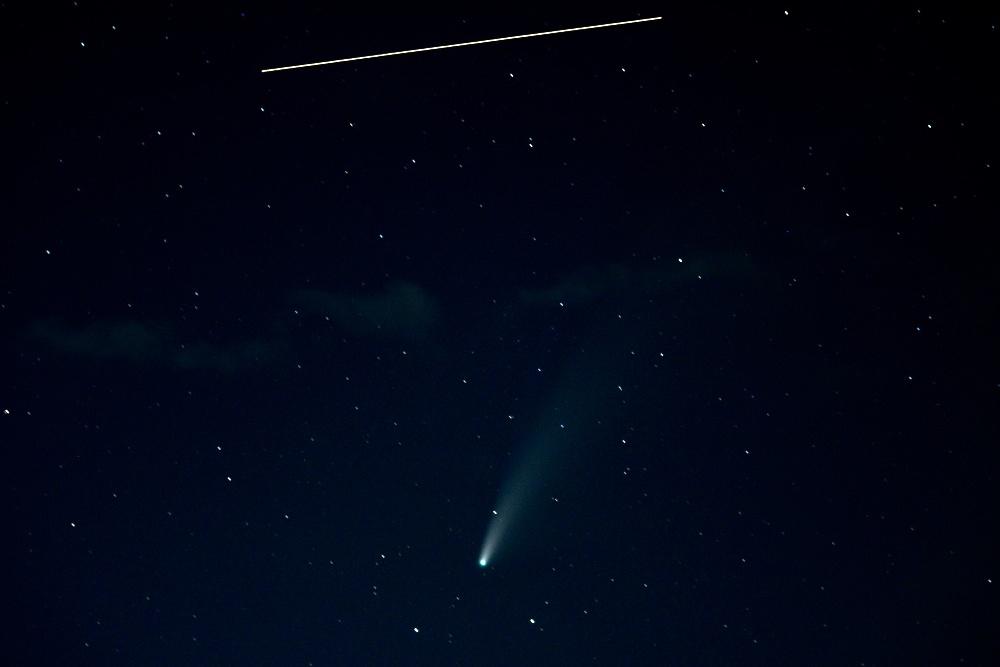 Прощаемся с кометой NEOWISE - 3