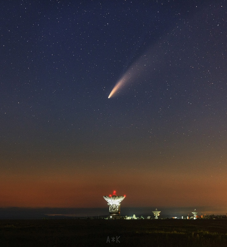 Прощаемся с кометой NEOWISE - 5