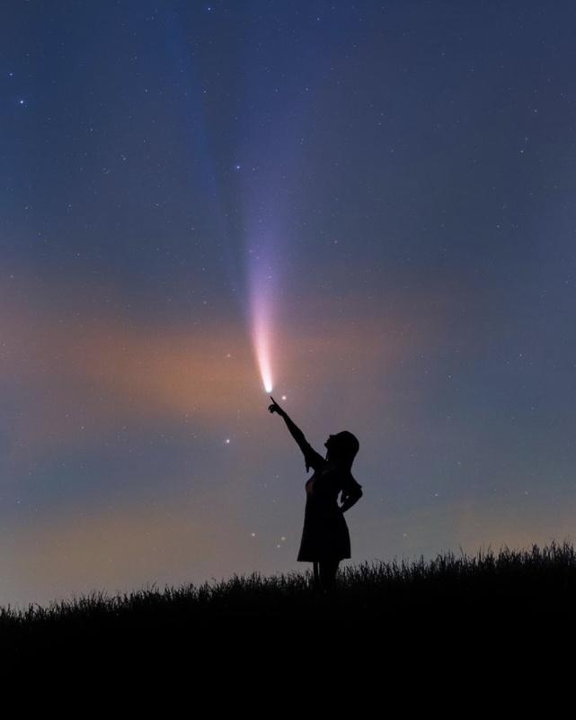 Прощаемся с кометой NEOWISE - 7