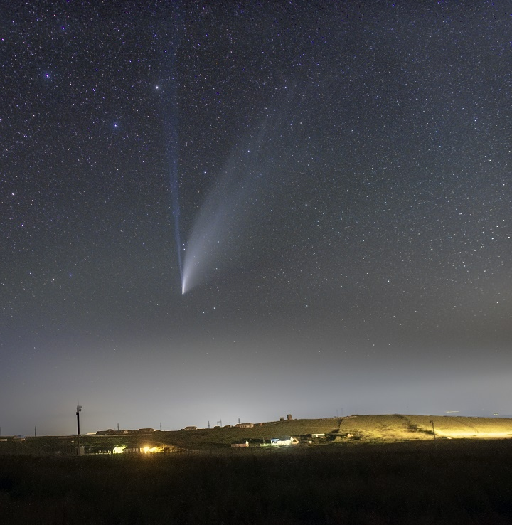 Прощаемся с кометой NEOWISE - 9