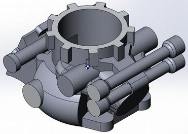 Проект длиной в 8 лет — знал бы, ни за что не ввязался: свой 2-тактный мотор - 27