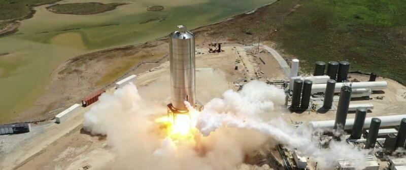 Прототип Starship успешно прошел огневые испытания - 2