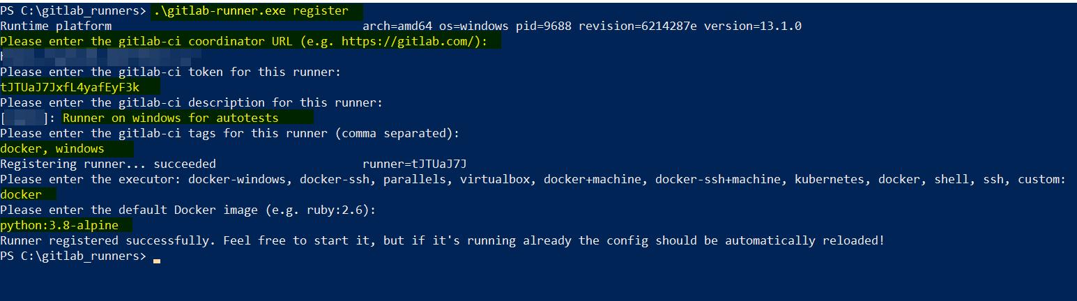 Тесты на pytest с генерацией отчетов в Allure с использованием Docker и Gitlab Pages и частично selenium - 7