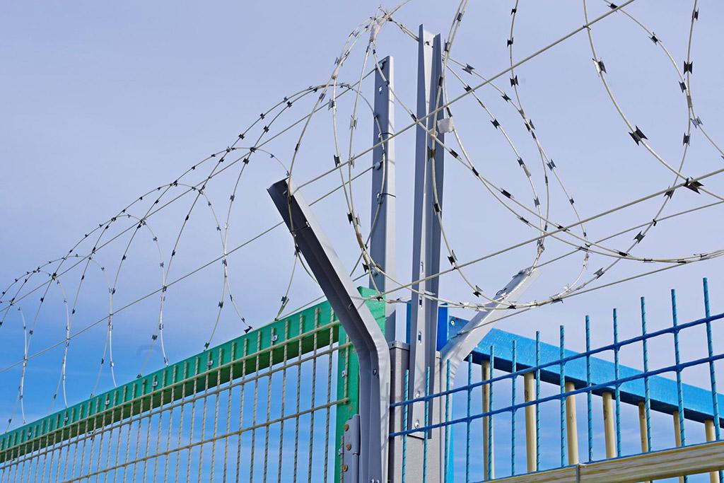 Забор из рулона — радиопрозрачные инженерные заграждения - 11