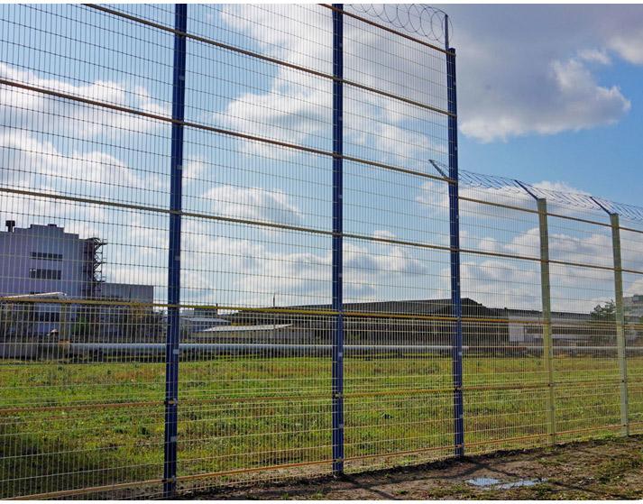 Забор из рулона — радиопрозрачные инженерные заграждения - 3