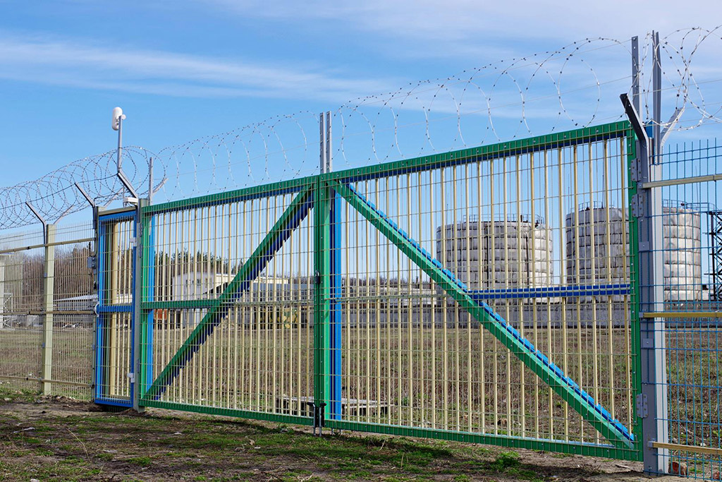 Забор из рулона — радиопрозрачные инженерные заграждения - 4