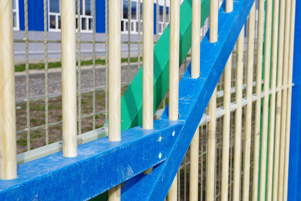 Забор из рулона — радиопрозрачные инженерные заграждения - 5