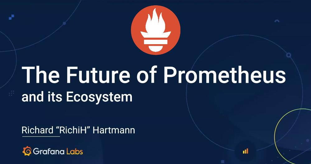 Будущее Prometheus и экосистемы проекта (2020) - 1