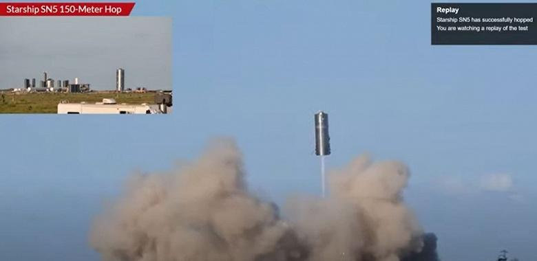 Марс — впереди. Космический корабль Starship успешно взлетел, и так же успешно приземлился