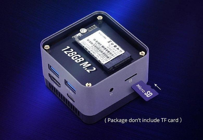 Крошечные мини-ПК набирают популярность. NucBox 4K Mini PC оснащен Intel Celeron J4125 и 8/512 ГБ памяти