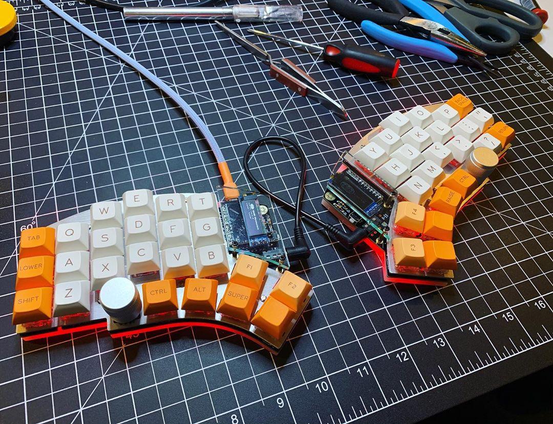 Ортолинейная сплит клавиатура — это что такое? Обзор Iris Keyboard - 12