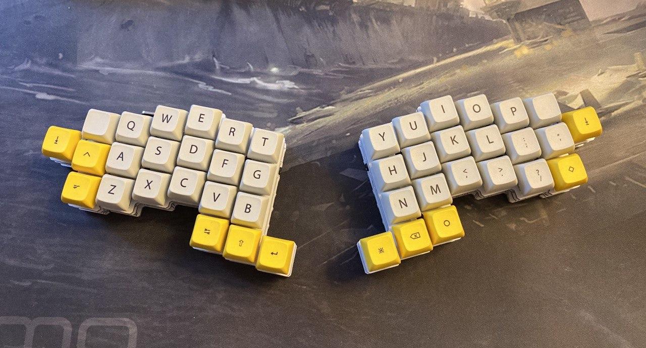 Ортолинейная сплит клавиатура — это что такое? Обзор Iris Keyboard - 13