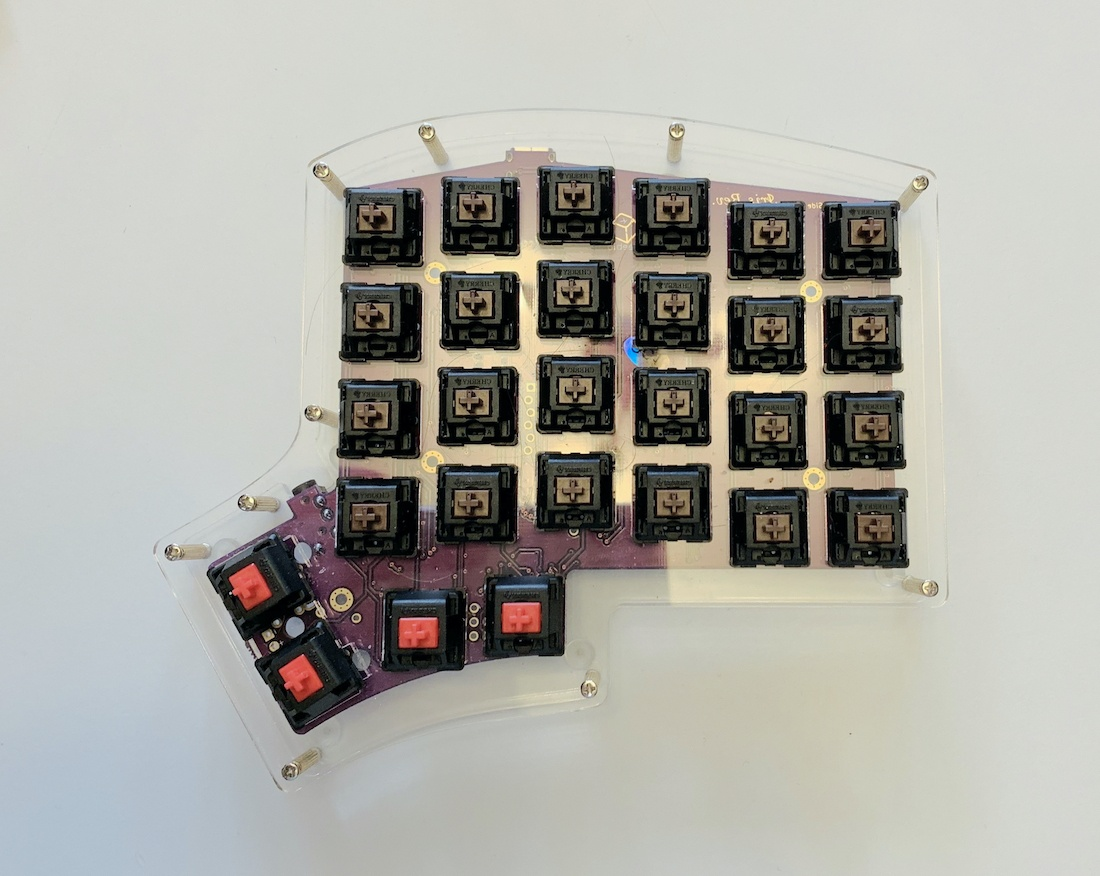 Ортолинейная сплит клавиатура — это что такое? Обзор Iris Keyboard - 23