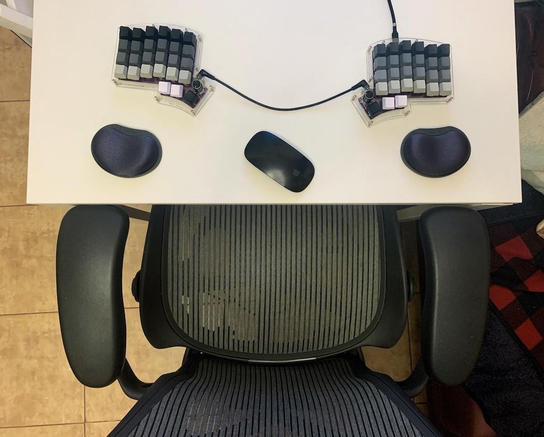 Ортолинейная сплит клавиатура — это что такое? Обзор Iris Keyboard - 26