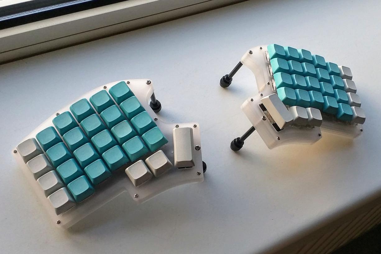 Ортолинейная сплит клавиатура — это что такое? Обзор Iris Keyboard - 31