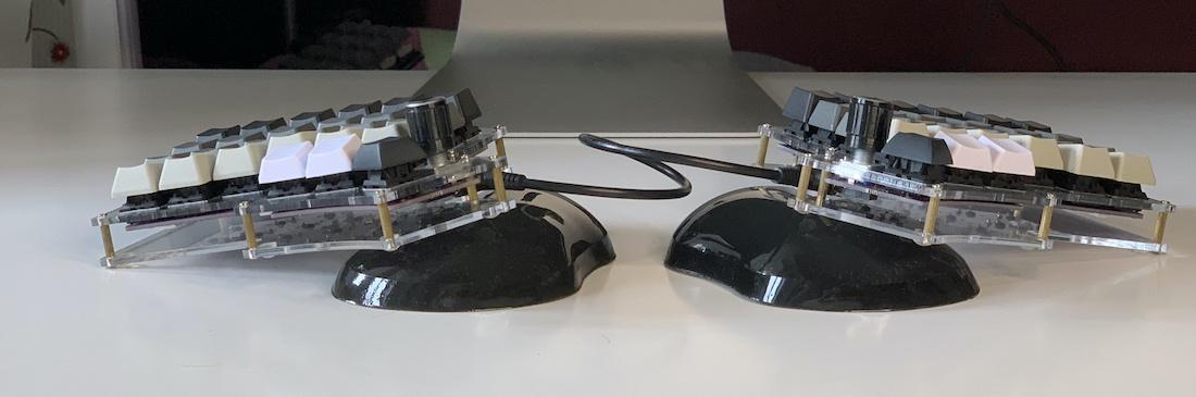 Ортолинейная сплит клавиатура — это что такое? Обзор Iris Keyboard - 32