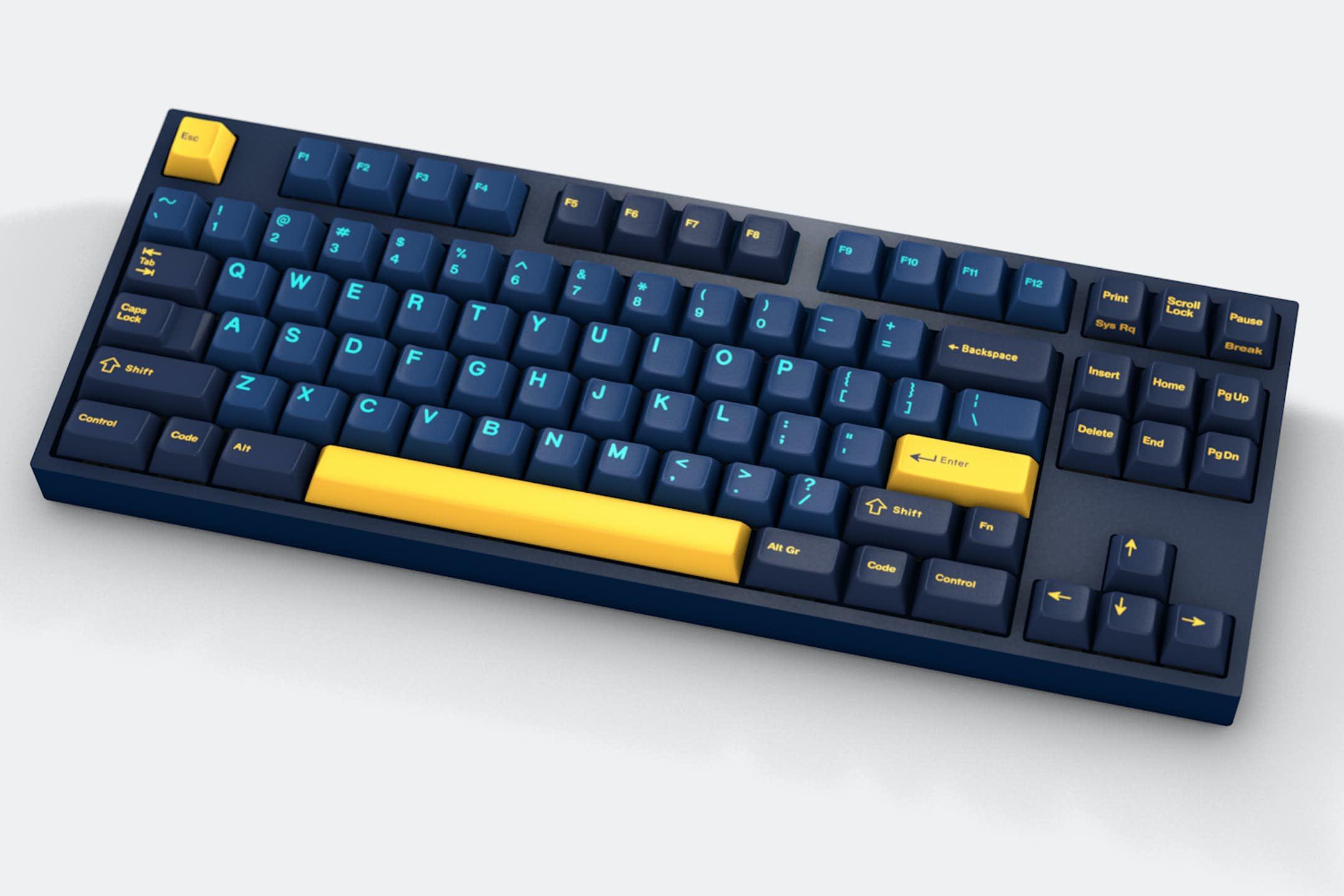 Ортолинейная сплит клавиатура — это что такое? Обзор Iris Keyboard - 38