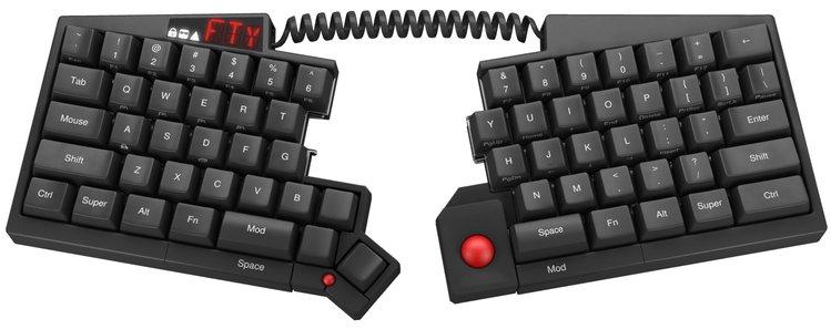 Ортолинейная сплит клавиатура — это что такое? Обзор Iris Keyboard - 4