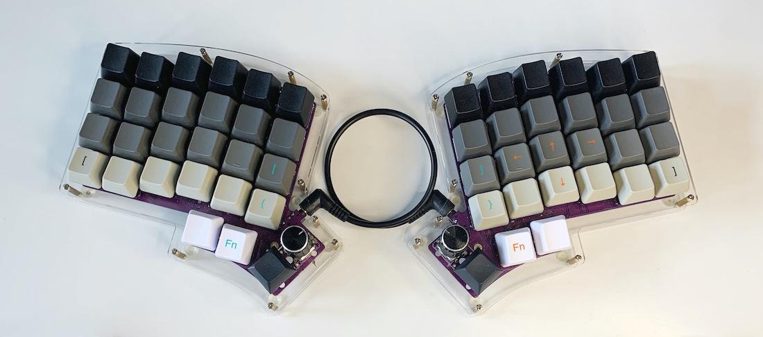 Ортолинейная сплит клавиатура — это что такое? Обзор Iris Keyboard - 43