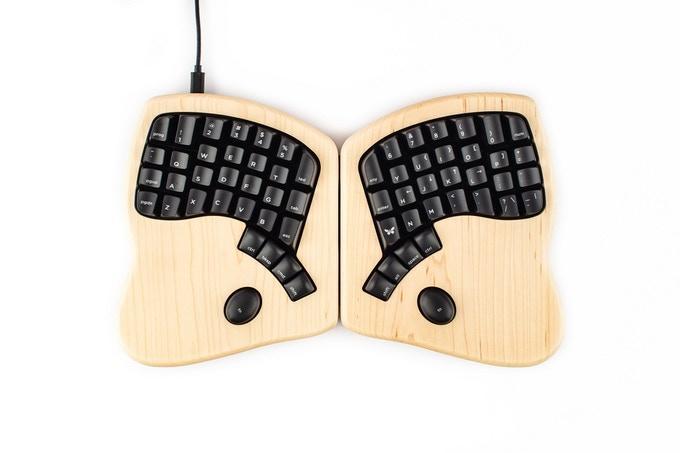 Ортолинейная сплит клавиатура — это что такое? Обзор Iris Keyboard - 7
