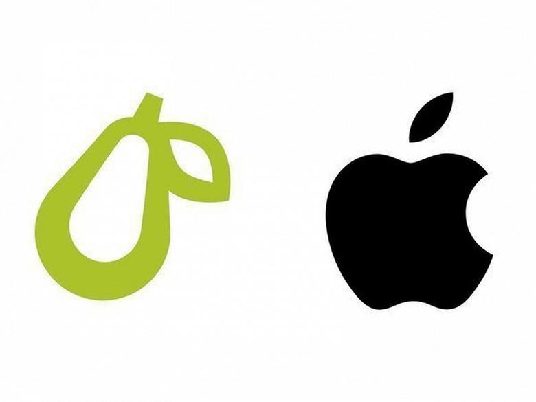 Apple атакует «грушевый» стартап Prepear и десятки других компании с «фруктовыми» логотипами