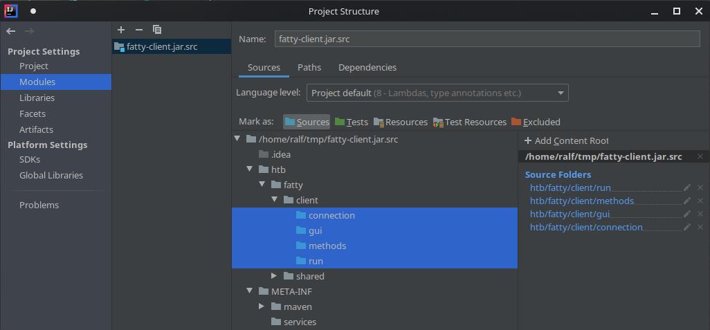 HackTheBox. Прохождение Fatty. Реверс и рекомпиляция клиент-серверного приложения. Java десериализация - 16