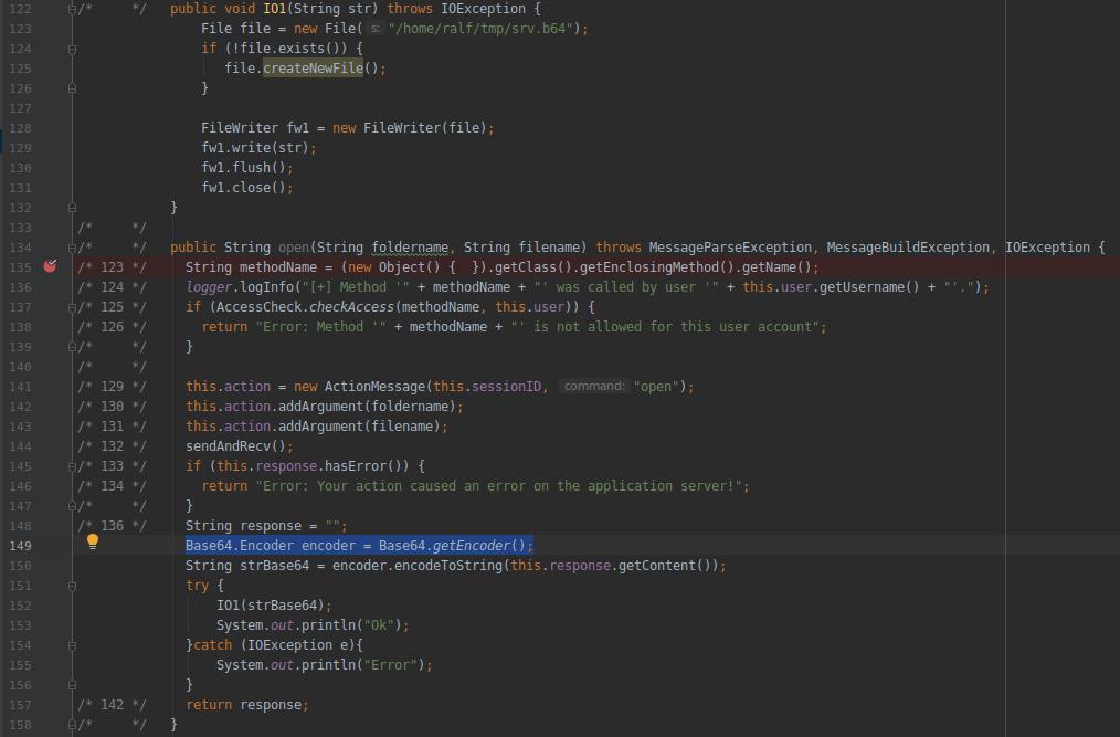 HackTheBox. Прохождение Fatty. Реверс и рекомпиляция клиент-серверного приложения. Java десериализация - 32