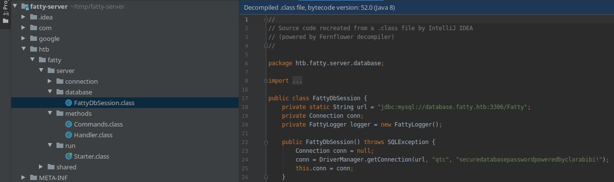 HackTheBox. Прохождение Fatty. Реверс и рекомпиляция клиент-серверного приложения. Java десериализация - 35