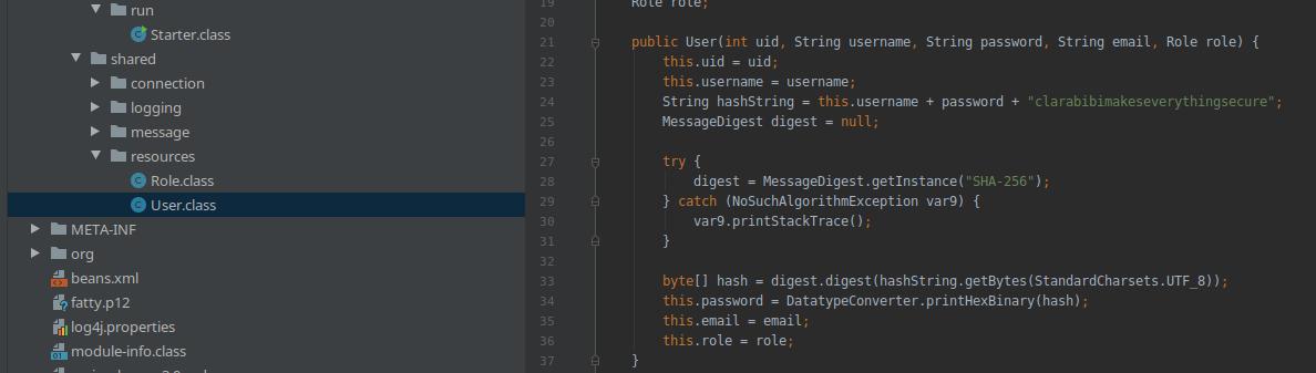HackTheBox. Прохождение Fatty. Реверс и рекомпиляция клиент-серверного приложения. Java десериализация - 38