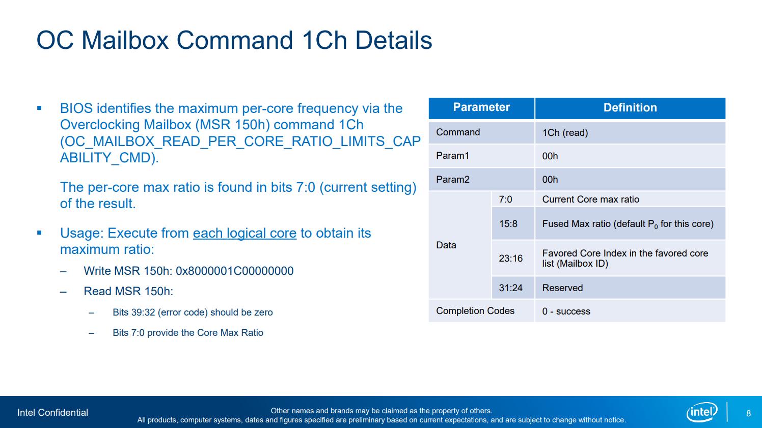 Анализ данных из последнего слива Intel - 7