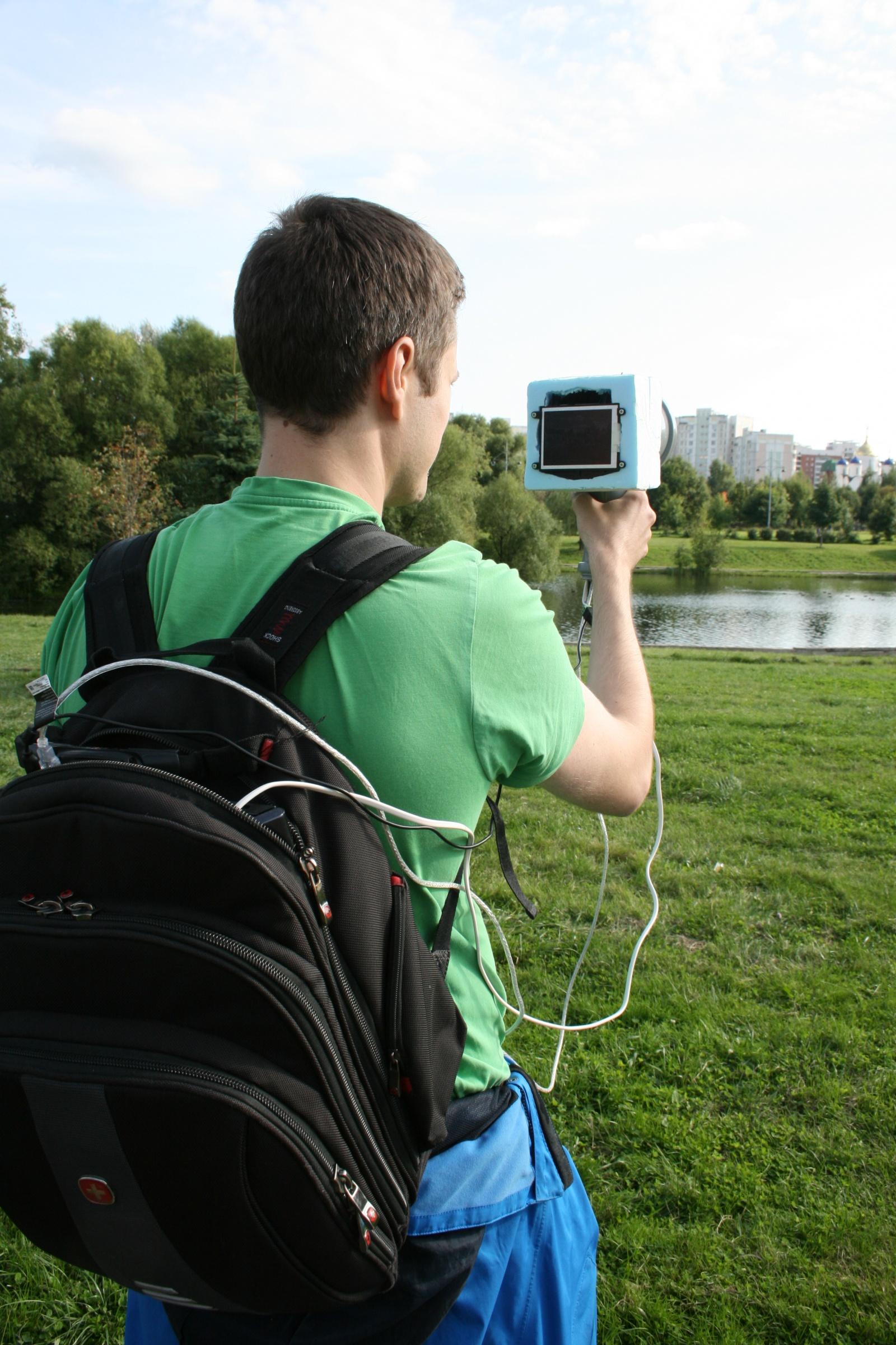 Инфракрасная видеокамера из подручных средств - 1