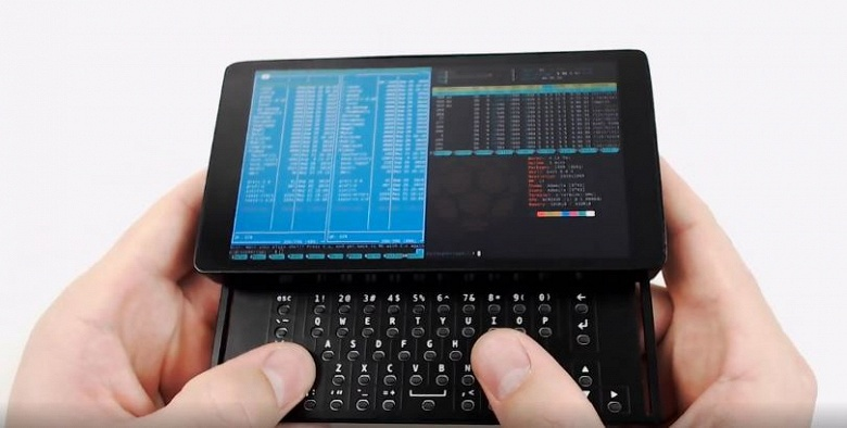 Основой мини-компьютера Zero Terminal 3 служит Raspberry Pi Zero