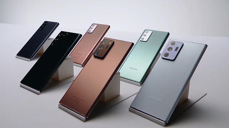 Такие экраны есть только у Samsung Galaxy Note20 Ultra и Galaxy Z Fold2. Обычный Note20 хуже и в этом