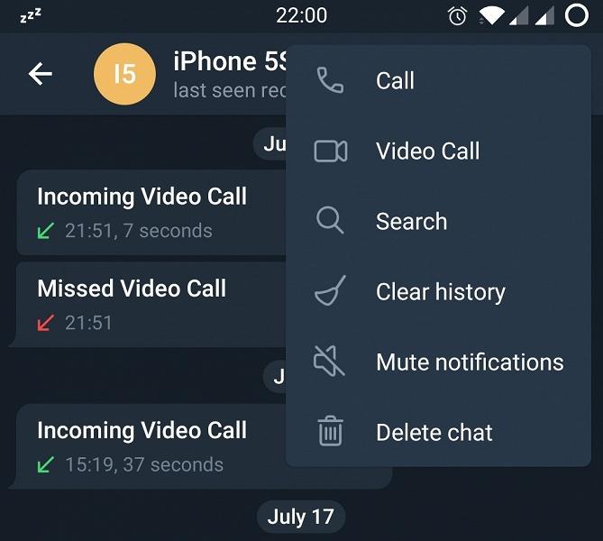 Долгожданные видеозвонки Telegram доступны для Android и не только