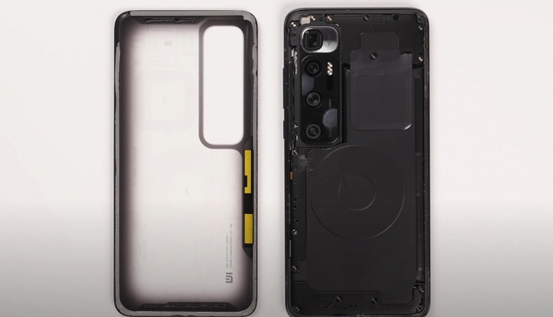 Препарирование «прозрачного» Xiaomi Mi 10 Ultra. У смартфона весьма необычная системная плата