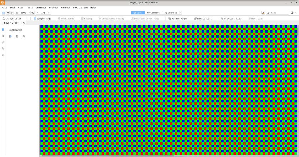 Проект «Радуга» – попытка показать цветное изображение на чёрно-белом мониторе - 2