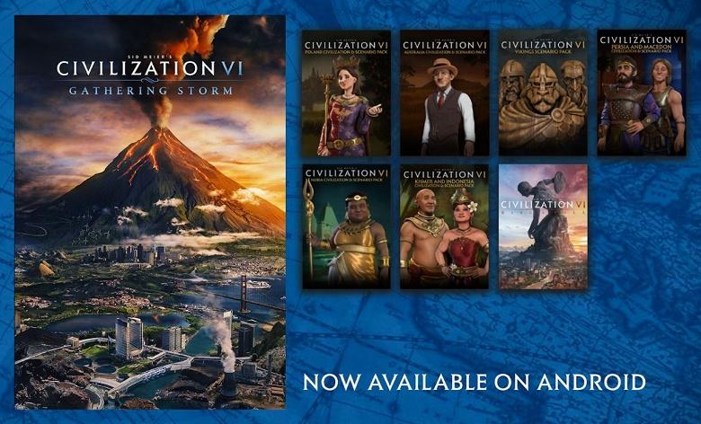 Civilization 6 наконец-то появилась на Android