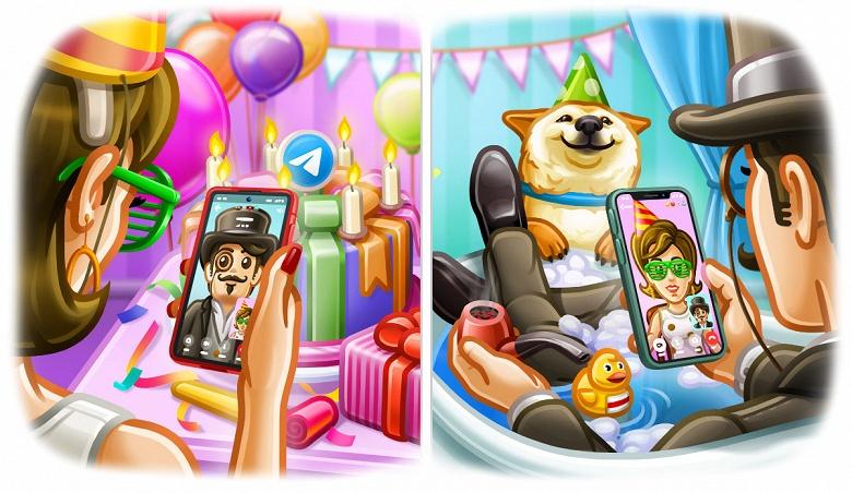 Telegram отмечает седьмой день рождения запуском видеозвонков
