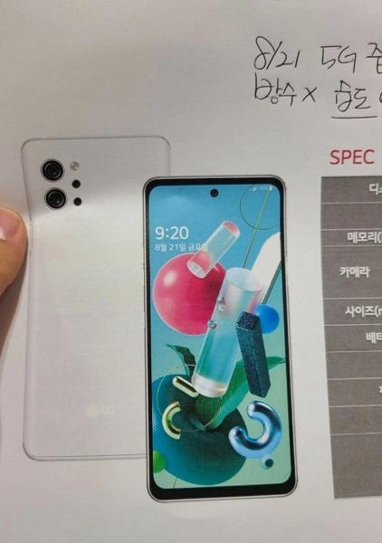 Дизайнерский среднебюджетный смартфон со стереодинамиками и «военной защитой». LG Q92 выглядит любопытно