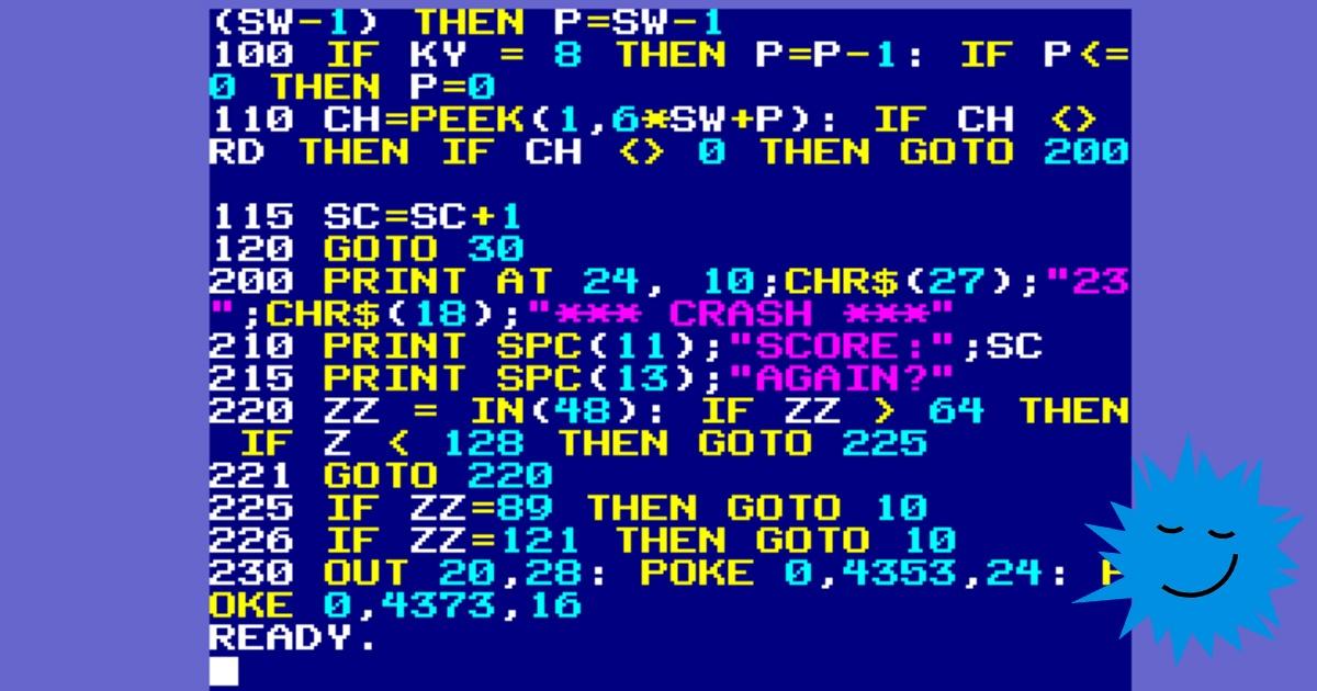 Пишем интерпретатор BASIC в стиле 80-х - 1