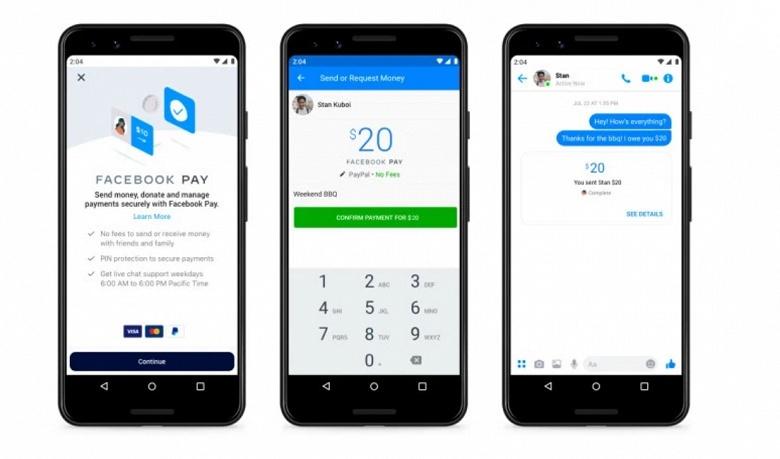 Платёжная система Facebook Pay начала работать в России